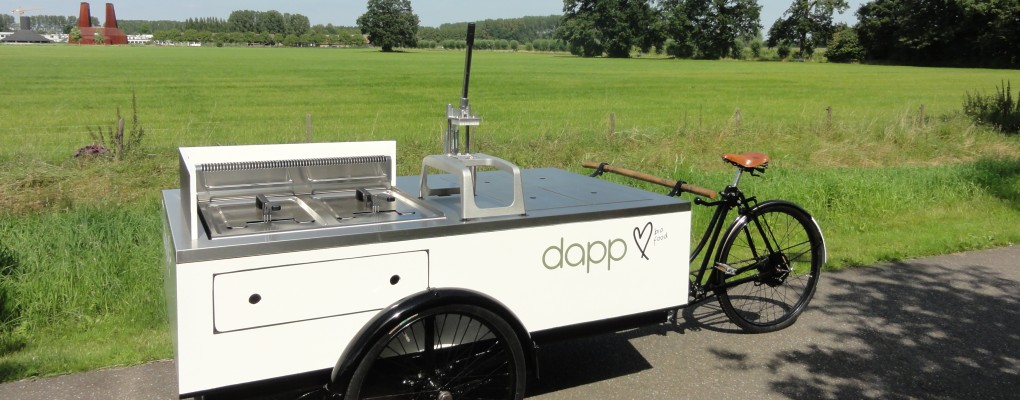 frietfiets van dapp bio food
